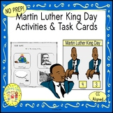 Martin Luther King Day Activities and Task Cards