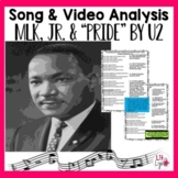 "Martin Luther King, Jr. Lyrics & Video Analysis-""Pride: In the Name of Love"" -U2"