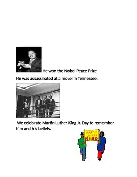 Martin Luther King Jr. Viewing Guide/ Fact Sheet