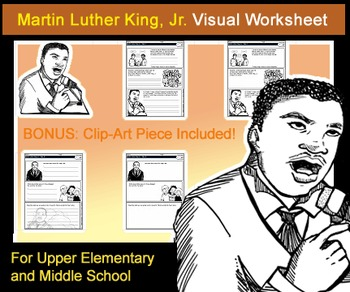 Martin luther king jr visual worksheet for upper elementarymiddle martin luther king jr visual worksheet for upper elementarymiddle school ibookread Read Online
