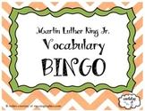 Martin Luther King Jr Vocabulary BINGO