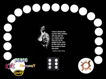 Martin Luther King, Jr. Vocabulary Board Game