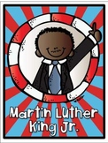 Martin Luther King Jr. FREEBIE {Vocabulary Cards}