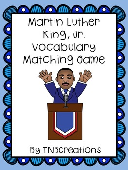 Martin Luther King, Jr. Vocabulary Game