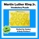 Martin Luther King Jr. Vocabulary Puzzle