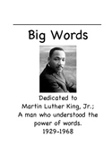 Martin Luther King, Jr. Vocabulary Unit