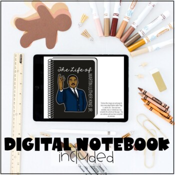 Martin Luther King Jr Activities: MLK Writing, Research Project