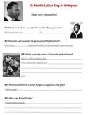Martin Luther King Jr. Webquest