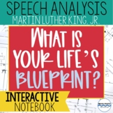 """What Is Your Life's Blueprint?"":  Martin Luther King, Jr. Speech Analysis"