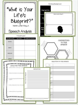 "Martin Luther King Jr. Speech Analysis - ""What is Your Life's Blueprint?"""