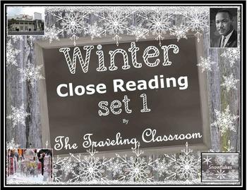 Winter Close Reading Set 1