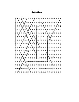 Martin Luther King, Jr. Word Find Literacy Activity