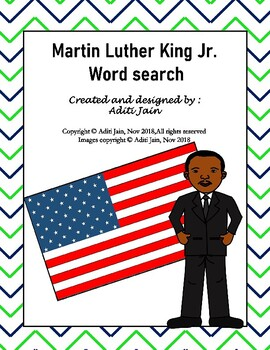Martin Luther King Jr. Word Search