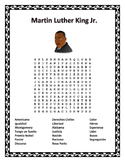 Martin Luther King Jr. - Word Search & Double Puzzle-Spanish