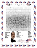 Martin Luther King, Jr. Word Search- Harder 30 Words