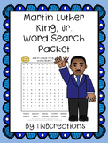 Martin Luther King, Jr. Word Search Packet