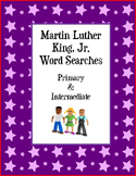 Martin Luther King, Jr. Word Search - Primary & Intermediate