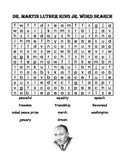 Martin Luther King Jr. Word Search and ABC