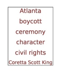 Martin Luther King Jr. Word Wall