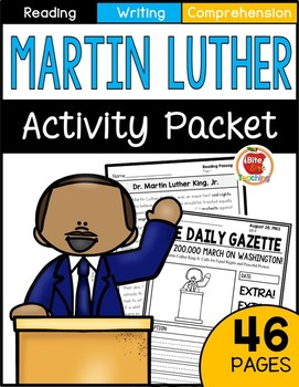 Martin Luther King Jr. Worksheet & Activity Packet