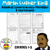 Martin Luther King Jr. Worksheets