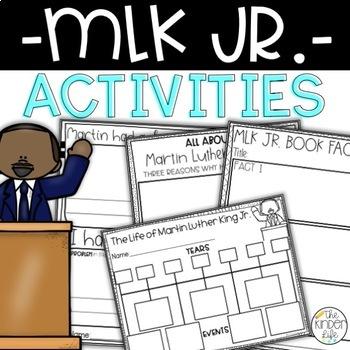 Martin Luther King Jr. Worksheets {NO PREP}