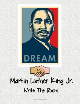Martin Luther King Jr. Write-The-Room