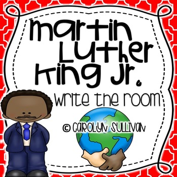 Martin Luther King Jr -- Write the Room!!