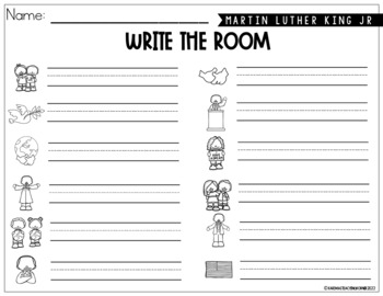 Martin Luther King Jr.- Write the Room