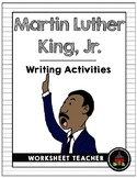 Martin Luther King, Jr. Writing Activities