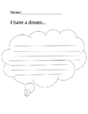 Martin Luther King, Jr. Writing Activity