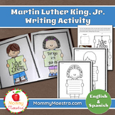 Martin Luther King Jr. Writing Activity (Bilingual)