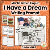 Martin Luther King Jr. Writing Craft:  Posters, Planners, Toppers Included