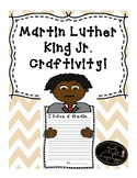 Martin Luther King Jr. Writing Craftivity!