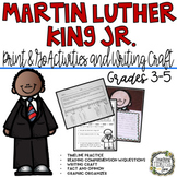 Martin Luther King Jr., Martin Luther King Activities, Martin Luther Worksheets