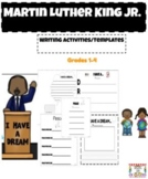 Martin Luther King Jr. Writing Grades 1-4
