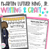 Martin Luther King Jr. Writing & Craft, Black History Month Sentence Starters