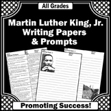 Martin Luther King Jr. Activities, MLK Day Writing Prompts, Literacy Centers