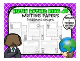 Martin Luther King Jr. Writing Papers - 5 designs