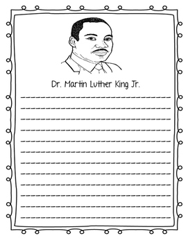 Martin Luther King Jr. Writing Prompts