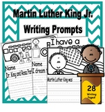 Martin Luther King Jr, Writing Prompts