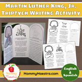 Martin Luther King Jr. Writing Triptych Activity {Bilingual}