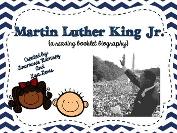 Martin Luther King Jr. {a reading booklet biography}
