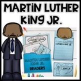 Martin Luther King Jr. activities- Reading&writing lapbook- Black History Month