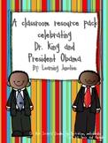 Martin Luther King Jr. and Barack Obama: A Celebration Pack