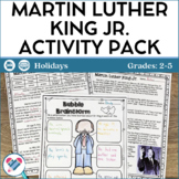 Martin Luther King Jr. Reading and Writing Activities - PDF and Digital