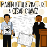 Martin Luther King Jr. & Cesar Chavez Compare and Contrast {SOL 2.4}
