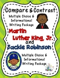 Martin Luther King, Jr. and Jackie Robinson Black History