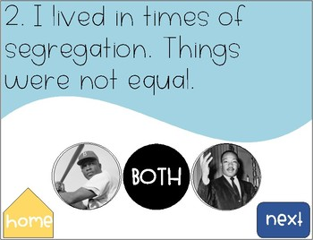 Martin Luther King Jr and Jackie Robinson {FREEBIE}