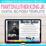 Martin Luther King Jr. and MLK Digital Bio Poem